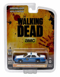 Ford Crown Victoria Police Interceptor from The Walking Dead 1/64 Diecast