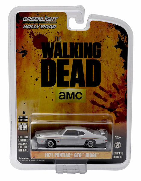1971 Pontiac GTO Judge from The Walking Dead 1/64 Diecast