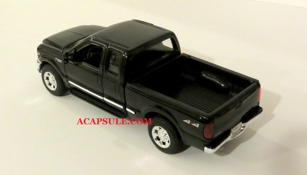 Black 1999 Ford F-350 Super Duty Pick Up 1/24 Scale Diecast Model