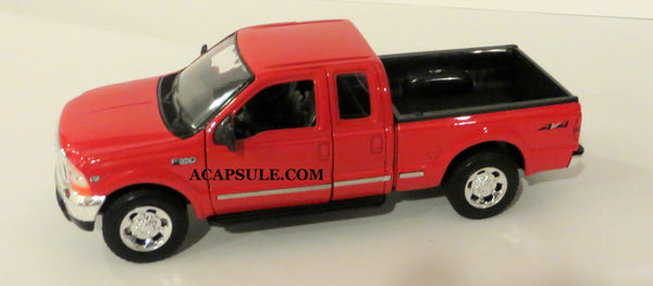 Red 1999 Ford F-350 Super Duty Pick Up 1/24 Scale Diecast Model