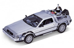 Back to the Future 2 DeLorean Diecast Car DeLorean 1/24 Scale Diecast Model