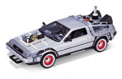 Back to the Future 3 DeLorean Diecast Car DeLorean 1/24 Scale Diecast Model