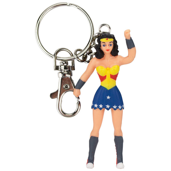 Wonder Woman Bendable and Poseable Keychain