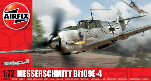 Messerschmitt Bf109E-4 1/72 Scale Model Kit