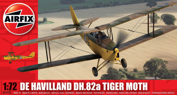 De Havilland DH.82a Tiger Moth 1/72 Scale Model Kit
