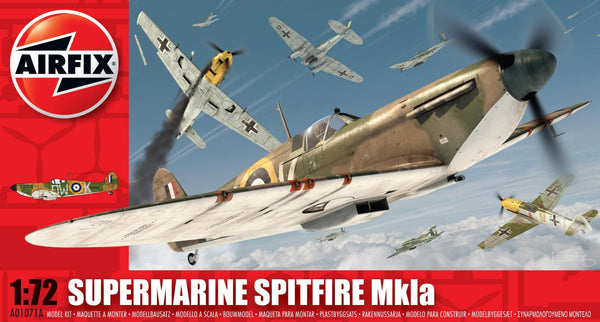 Supermarine Spitfire MkIa 1/72 Scale Model Kit