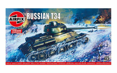Airfix Russian T34 Medium Tank 1/76 Model Kit