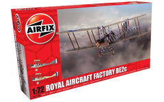 Airfix Royal Aircraft Factory BE2c 1/72 Scale Model Kit