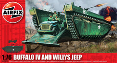 Buffalo IV and Willys Jeep 1/76 Model Kit