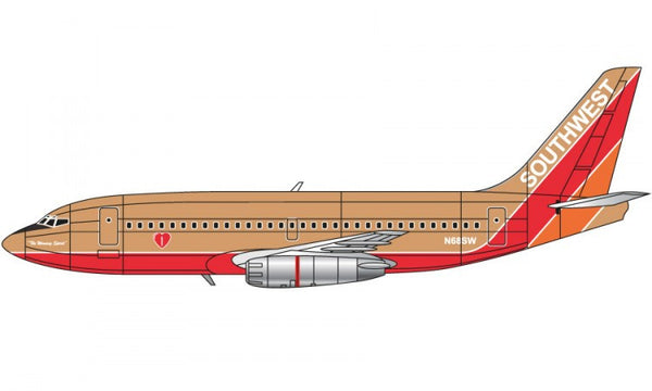 Boeing 737 1/144 Scale Model Kit