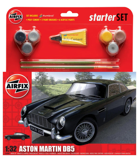 Aston Martin DB5 Starter Set 1:32 Sclae (Comes with Paint, Brushes and Glue)