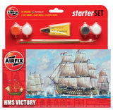HMS Victory Starter Set (Comes with Paint, Brushes and Glue)