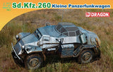 Dragon 1/72 Sd.Kfz.260 Kleine Panzerfunkwagen Model Kit