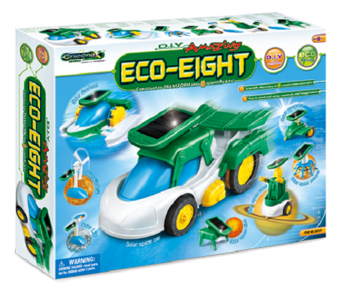 Do It Yourself 8 in 1 Eco-Eight Educational Kit