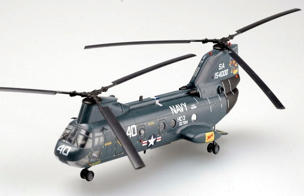 Easy Model US Navy Boeing CH-46 Seaknight 1/72 Scale Model