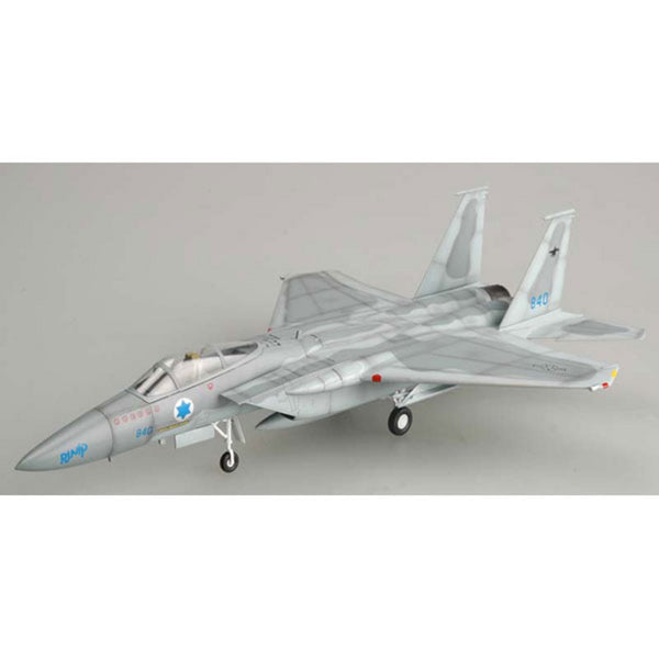 Easy Model Israeli Air Force F-15C 1/72 Scale Model Plane with Stand