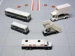 Gemini 200 Airport Service Vehicles 5 Piece Set G2APS450