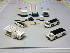 Gemini 200 Aircraft Support Vehicles 10 Pc Set G2APS451 1/200 Scale