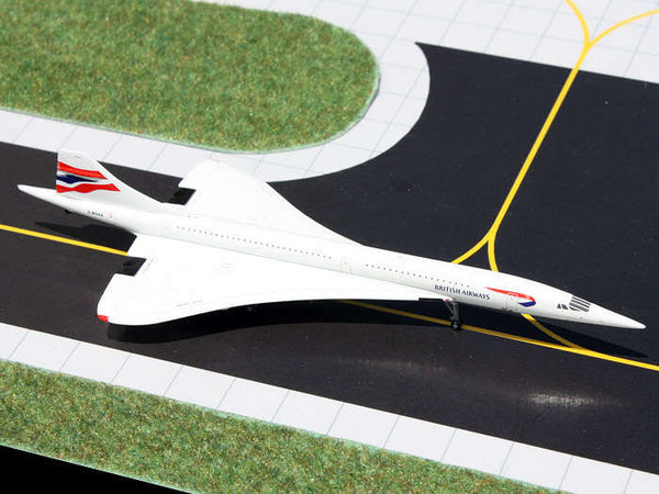 Gemini Jets British Airways Concorde 1/400 Scale Diecast Plane GJBAW1233