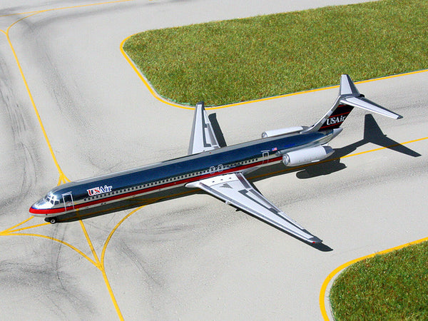 Gemini Jets US Air McDonnell Douglas MD-82 1/250 Scale Diecast Model