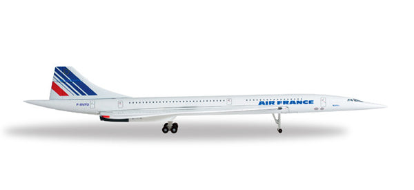 Herpa Wings Air France Concorde 1/500 Diecast Model HE507028-002