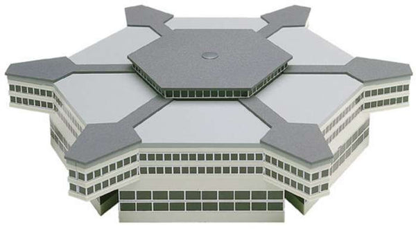 Herpa Airport 519663 Hexagonal Departure Hall 1/500 Scale