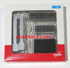 Herpa HE520416 Airport Accessories Passenger Gates (2) 1/500 Scale