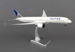 Hogan United Airlines Boeing 787-9 1/200 Scale Model w Gears & Stand