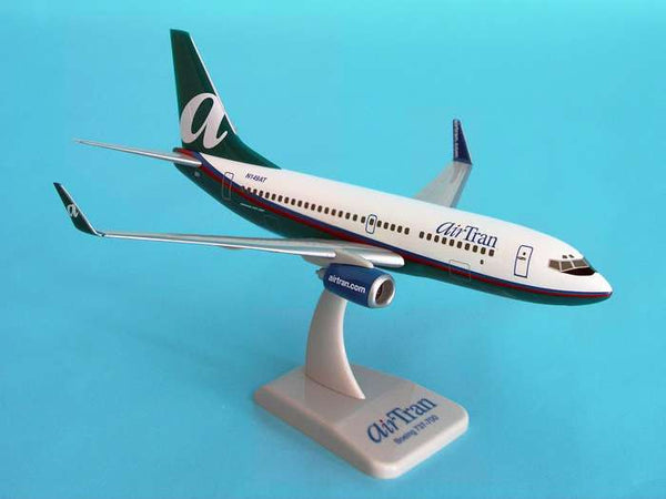 Hogan Airtran Airways Boeing 737-700 1/200 Scale Model w Gears & Stand