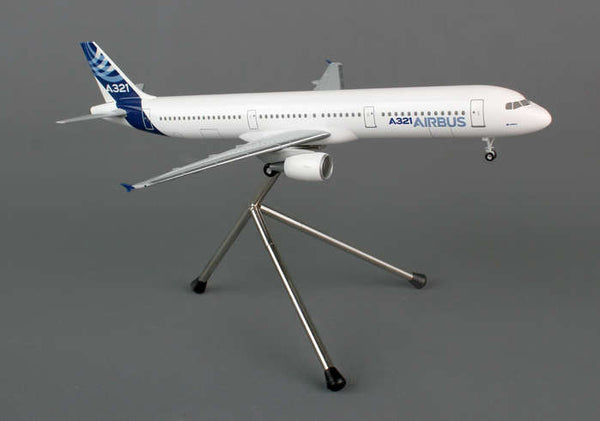 Hogan Airbus Corporate Logo Airbus A321 1/200 Scale Model w Gears & Stand