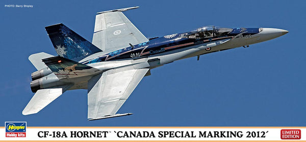 Royal Canadian Air Force CF-18A Hornet 2012 Limited Edition 1/72 Model Kit