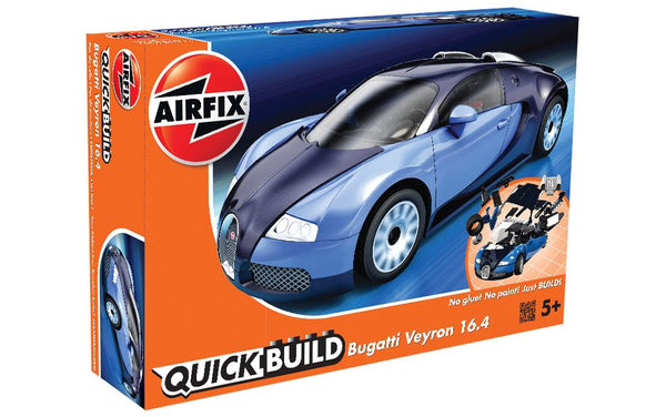 Bugatti Veyron 16.4 Construction Toy (Blue)