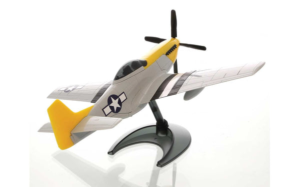 P-51D Mustang Construction Toy with Stand