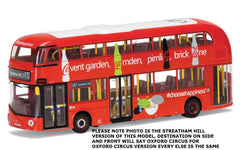 Corgi Arriva New Routemaster Coca Cola #137 to Oxford Circus 1/76 Scale Diecast Double Decker Bus