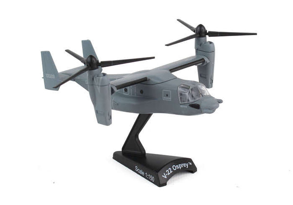 Postage Stamp Bell Boeing V-22 Osprey 1/150 Scale Diecast Model with Stand