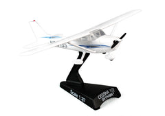 Cessna 172 Skyhawk 1/87 Scale Diecast Model with Stand