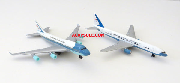 Air Force One and Air Force Two Toy Plane Set