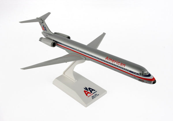 Skymarks Model Old Livery American Airlines MD-80 1/150 Scale Plane with Stand Reg N495AA
