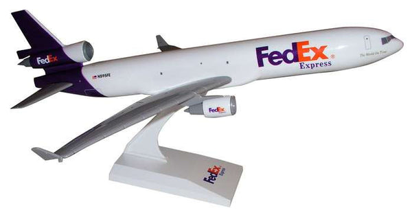 Skymarks Model Fedex MD-11 1/200 Scale Model with Stand