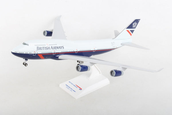 Skymarks SKR1030 Landor Heritage Livery British Airways 747-400 1/200 Scale Model Plane