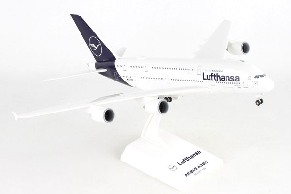 Skymarks Lufthansa Airbus A380-800 1/200 Scale Plane with Stand D-AIMB München