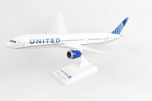 Skymarks Model United Airlines 2019 Livery Boeing 787-10 1/200 Scale with Stand