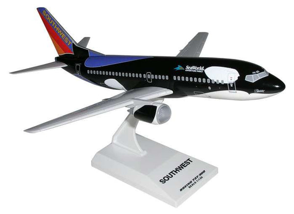 Skymarks Southwest Airlines SHAMU Boeing 737-300 1/130 Scale Model w Stand