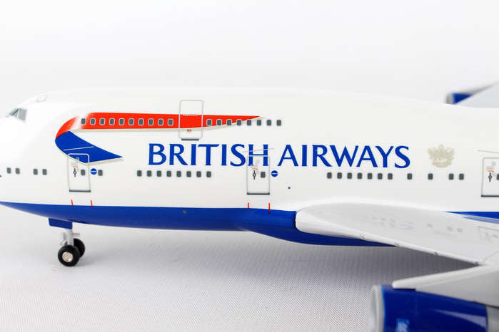 Skymarks Model British Airways 747-400 1//200 Scale with Stand and Gears #G-CIVX