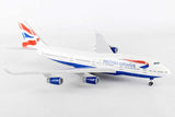 Skymarks Model British Airways 747-400 1/200 Scale with Stand and Gears #G-CIVX