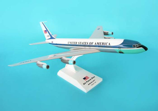 Skymarks Air Force One Boeing VC-137 (707) 1/150 Scale Model with Stand