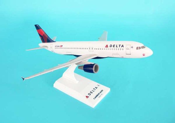 Skymarks Delta Airlines A320 1/150 Scale Plane with Stand