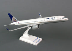 Skymarks United Airline New Logo 757-200ER 1/150 Scale Plane with Stand