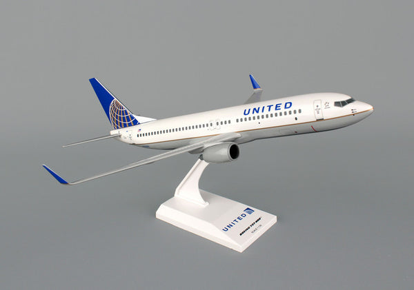 Skymarks United Airline Boeing 737-800 1/130 Scale Plane with Stand