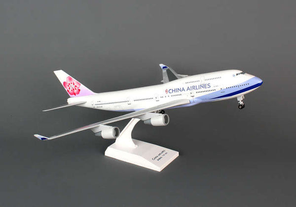 Skymarks Model China Airlines 747-400 1/200 Scale with Stand and Gears